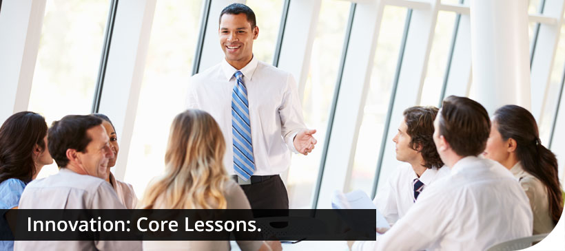 Innovation course core lessons